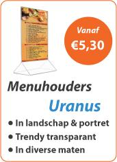 Menuhouders Uranus