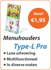 Menuhouders Type-L Pro